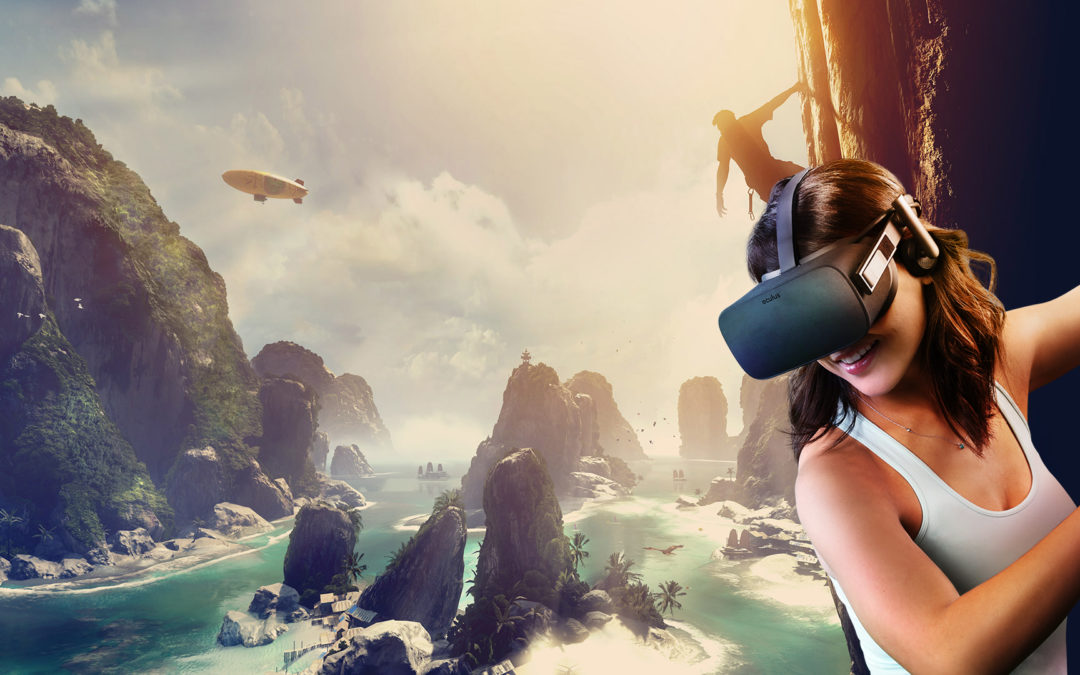 Recorrer tours virtuales en Oculus Rift, HTC Vive y dispositivos de realidad mixta.
