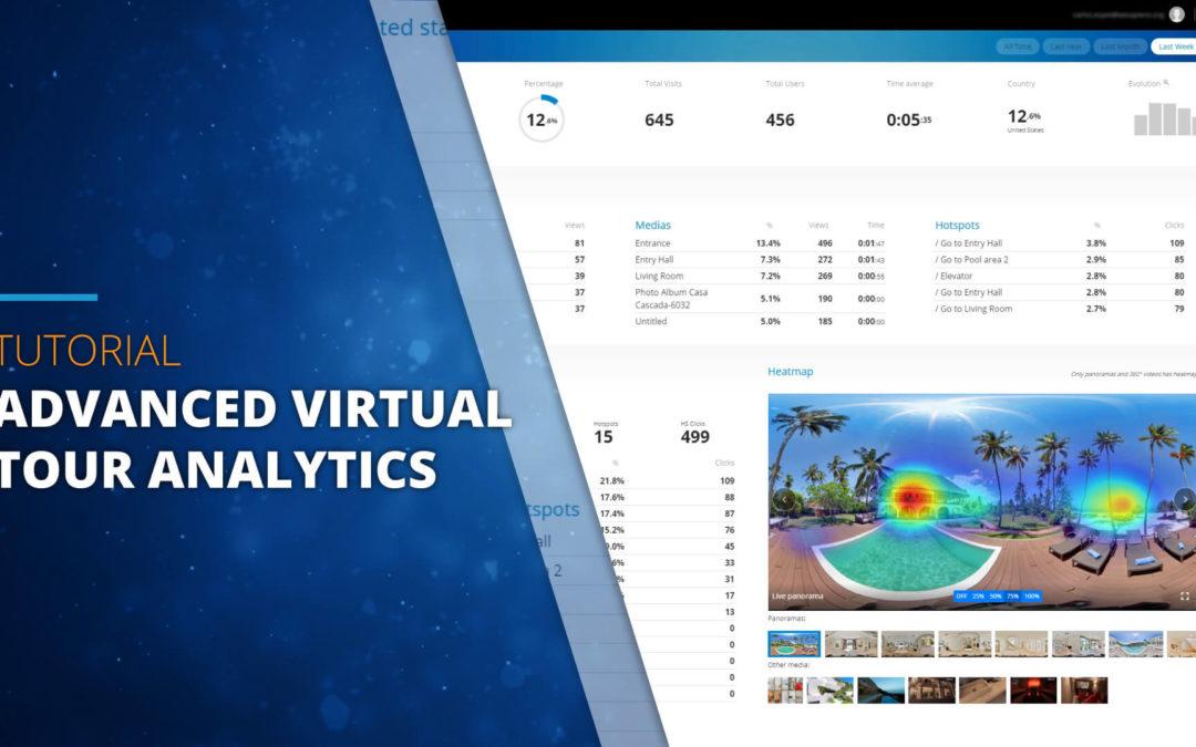 Advanced Analytics for 3DVista Virtual Tours