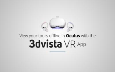 Introducing 3DVista VR App for Oculus Quest